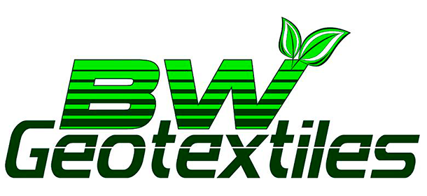 BW Geotextiles logo for geosythetic fabrics.