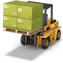 Icon: Forklift Truck Lifting Geotextile And Geosynthetic Fabric Boxes